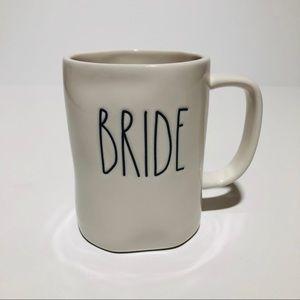 Rae Dunn Ivory Colored BRIDE Coffee Mug
